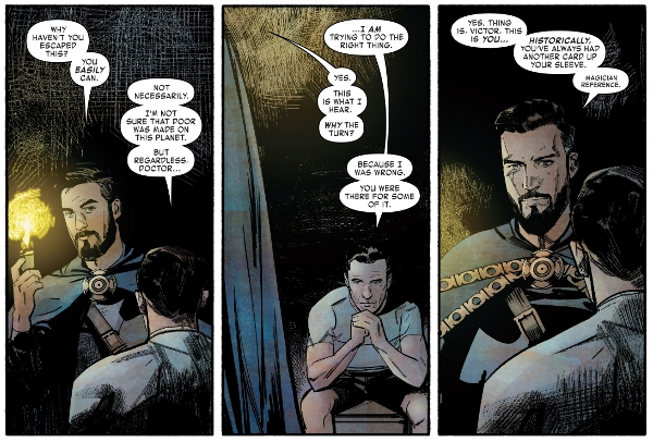 Infamous Iron Man #11 comic review