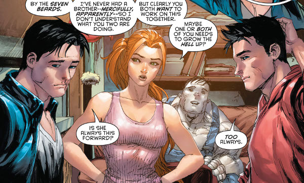 Red Hood and the Outlaws Annual #1 comic review