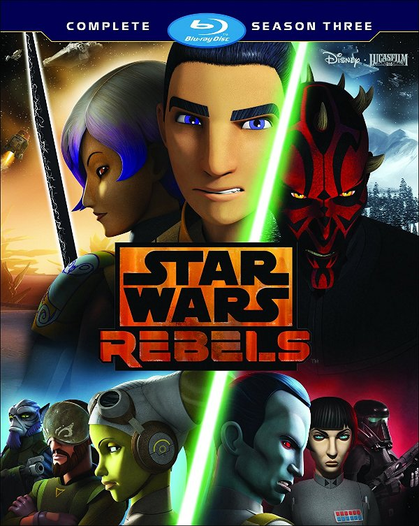 Star Wars Rebels - The Complete Third Season Blu-ray review