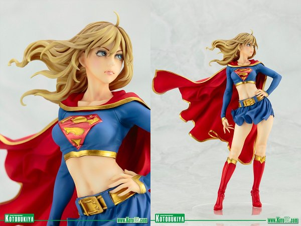 Supergirl Returns Bishoujo Statue