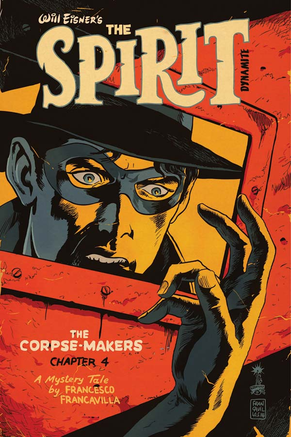 Will Eisner's The Spirit: The Corpse-Makers #4 comic review