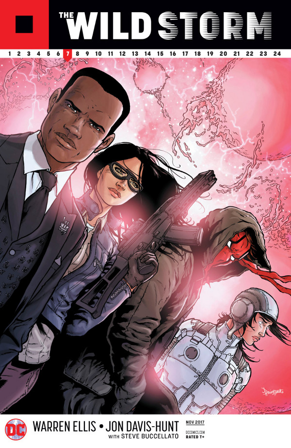 The Wild Storm #7 comic review