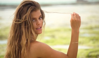 Nina Agdal Soaks Up The Sun (Sports Illustrated Swimsuit)