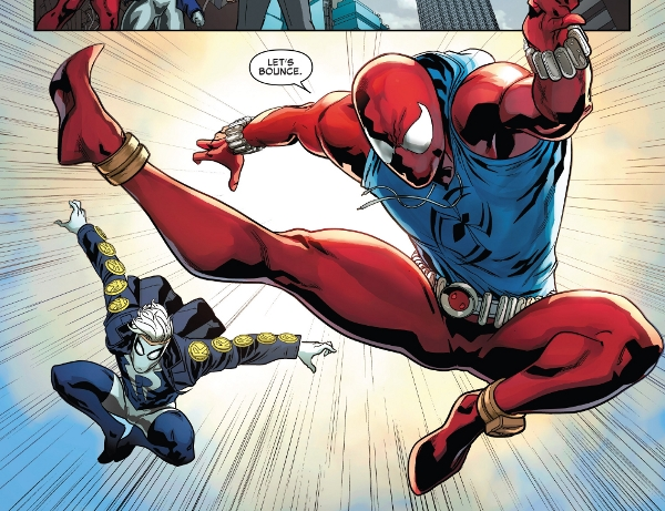 Ben Reilly: Scarlet Spider #9 comic review