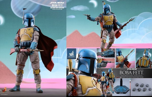 Boba Fett (Animation Version) Sixth Scale Figure