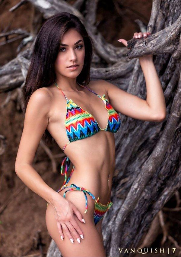 Kylie Zamora - Vanquish (2017 International Bikini Model Search Costa Rica)