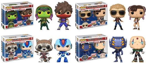 Marvel vs. Capcom: Infinite Pop! 2- Packs!