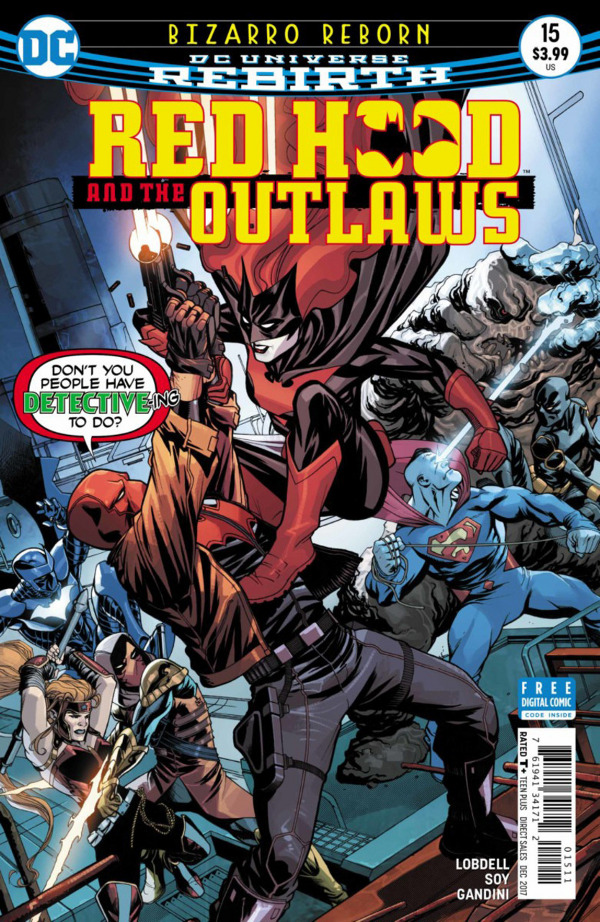 Red Hood and the Outlaws #15 comic review