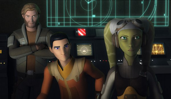 Star Wars Rebels - In the Name of the Rebellion TV review
