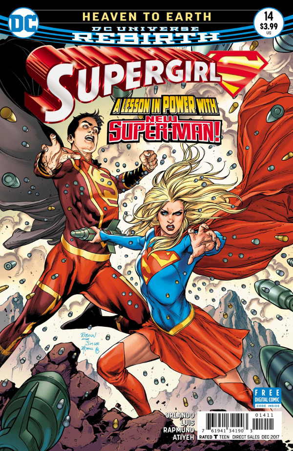 Supergirl #14 comic review