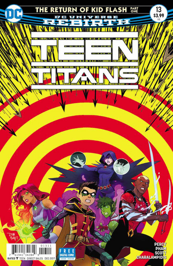 Teen Titans #13 comic review