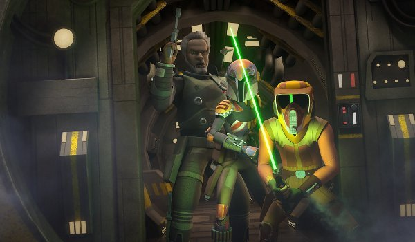 Star Wars Rebels – In the Name of the Rebellion TV review