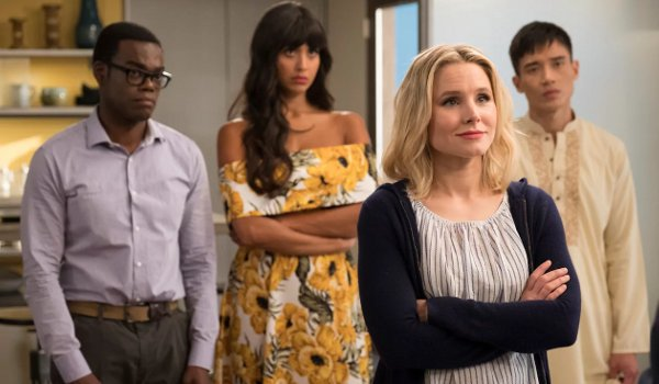 The Good Place - Dance Dance Resolution / Team Cockroach TV review