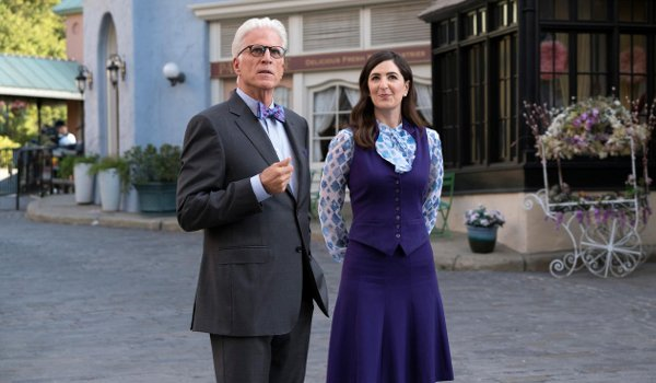 The Good Place - Janet and Michael TV review