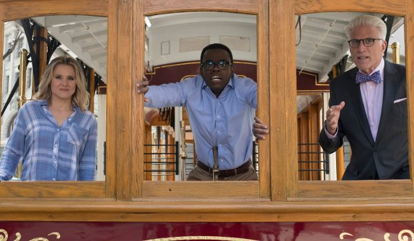 The Good Place - The Trolley Problem television review