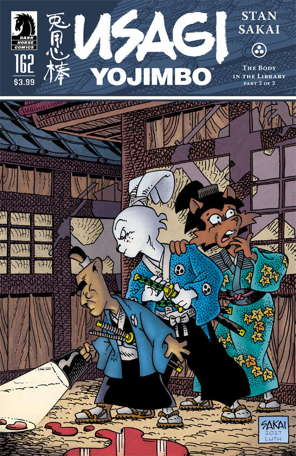 Usagi Yojimbo #162 comic review
