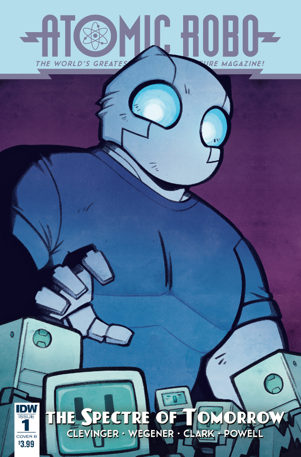 Atomic Robo and the Spectre of Tomorrow #1 comic review