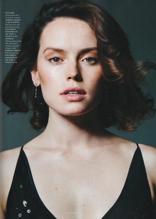 Daisy Ridley - Elle UK (December 2017)