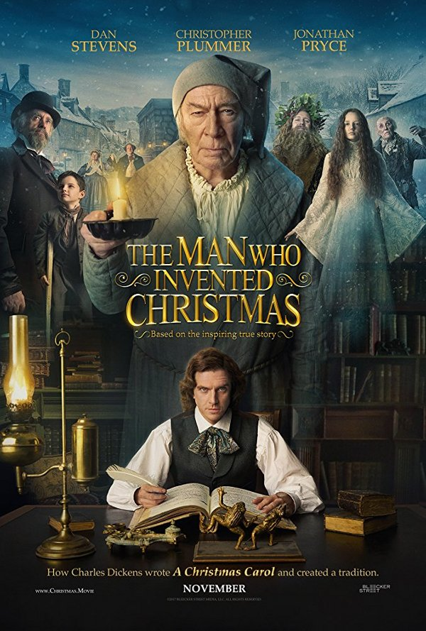 The Man Who Invented Christmas movie review