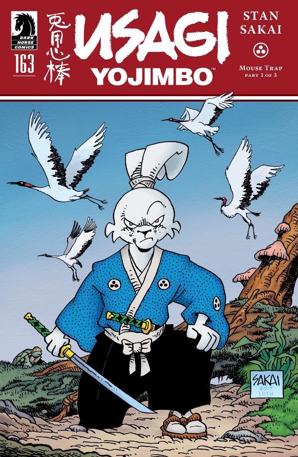 Usagi Yojimbo #163 comic review