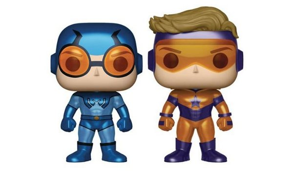Booster Gold and Blue Beetle Pop! Vinyl 2-Pack