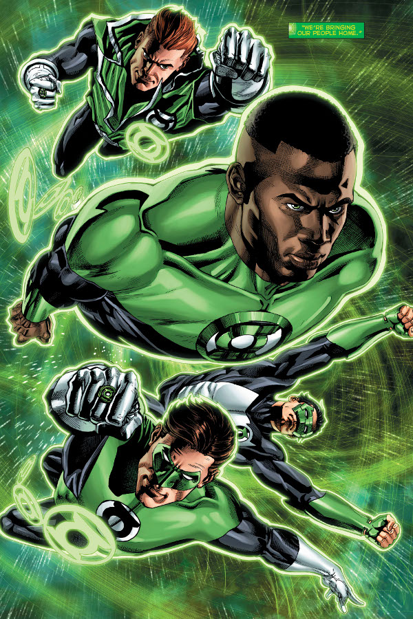 Hal Jordan and the Green Lantern Corps #34 comic review
