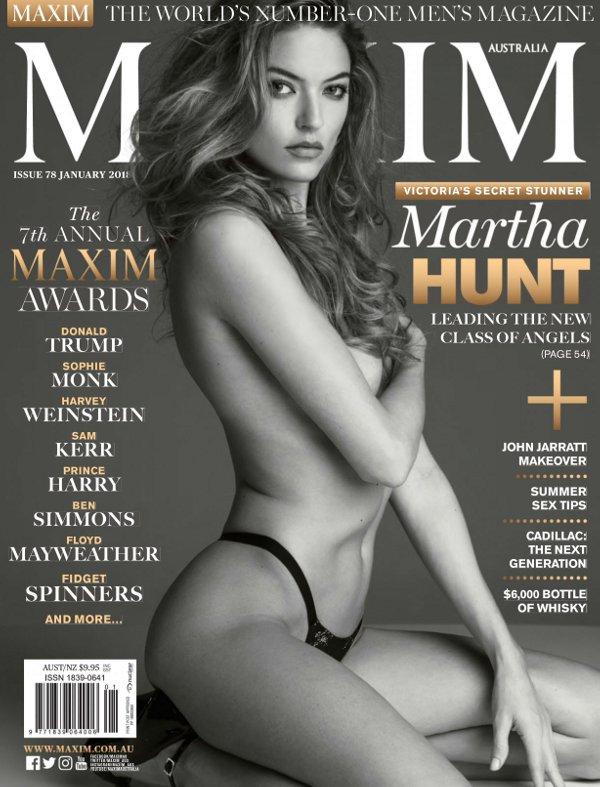 Martha Hunt - Maxim Australia (January 2018)