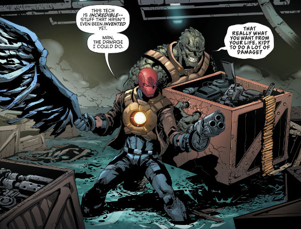 Red Hood and the Outlaws #17 comic review