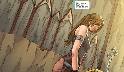 Tomb Raider: Survivor's Crusade #1 comic review