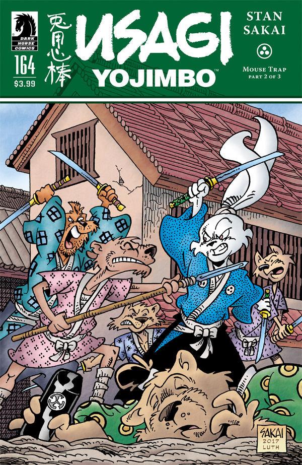 Usagi Yojimbo #164 comic review