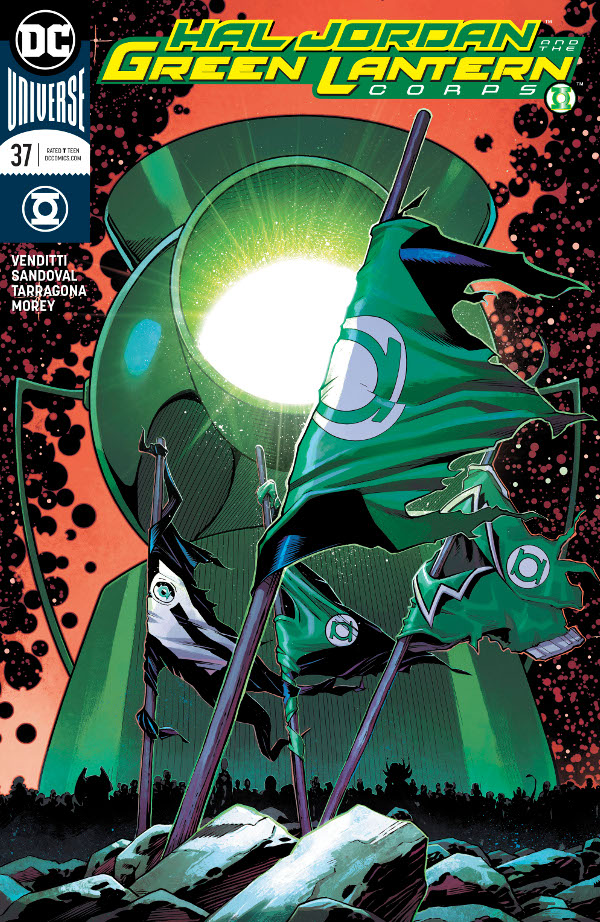 Hal Jordan and the Green Lantern Corps #37 comic review