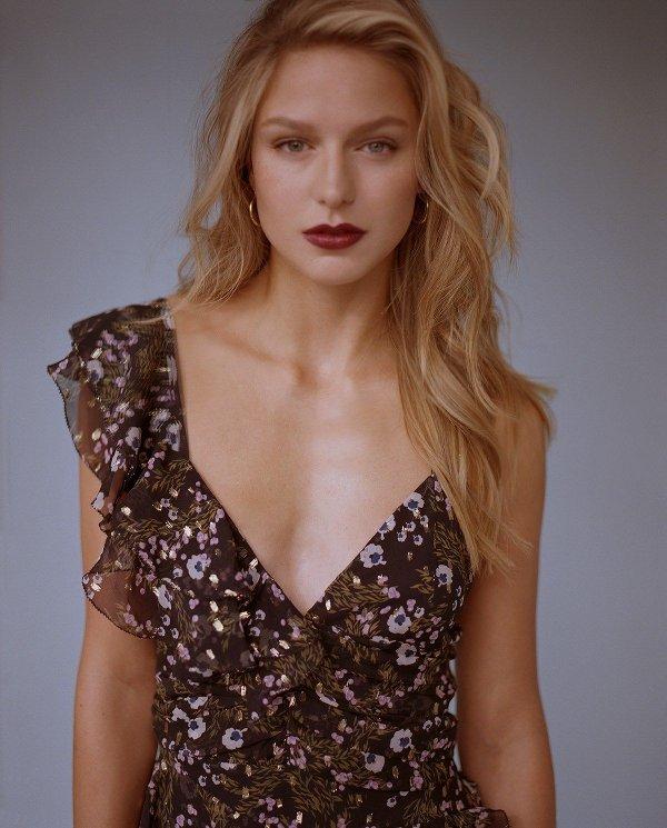 Melissa Benoist - W (February 2018)
