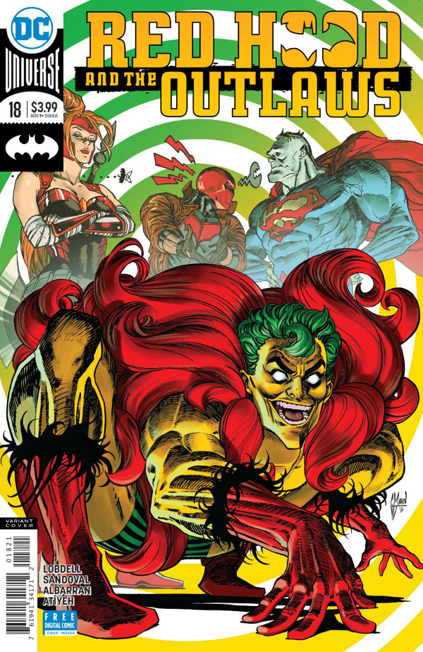 Red Hood and the Outlaws #18 comic review
