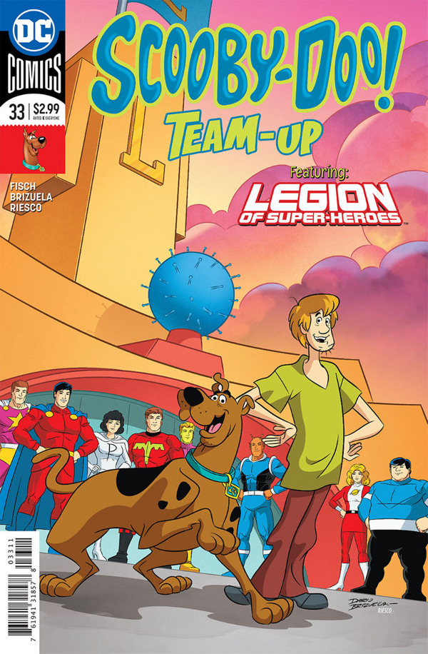 Scooby-Doo Team-Up #33 comic review