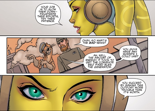 Star Wars Adventures: Forces of Destiny: Hera comic review