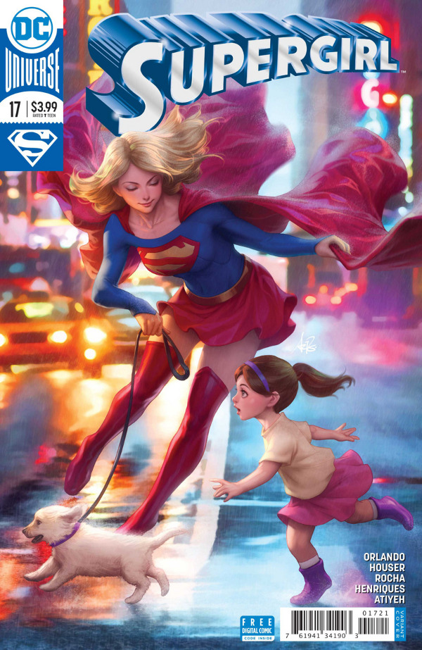Supergirl #17 comic review