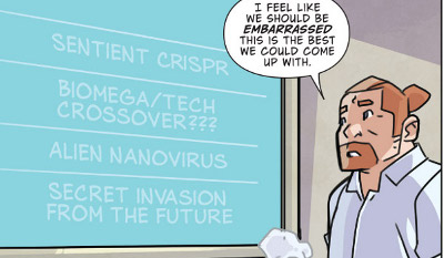 Atomic Robo and the Spectre of Tomorrow #3 comic review