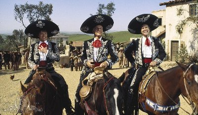 Three Amigos DVD review