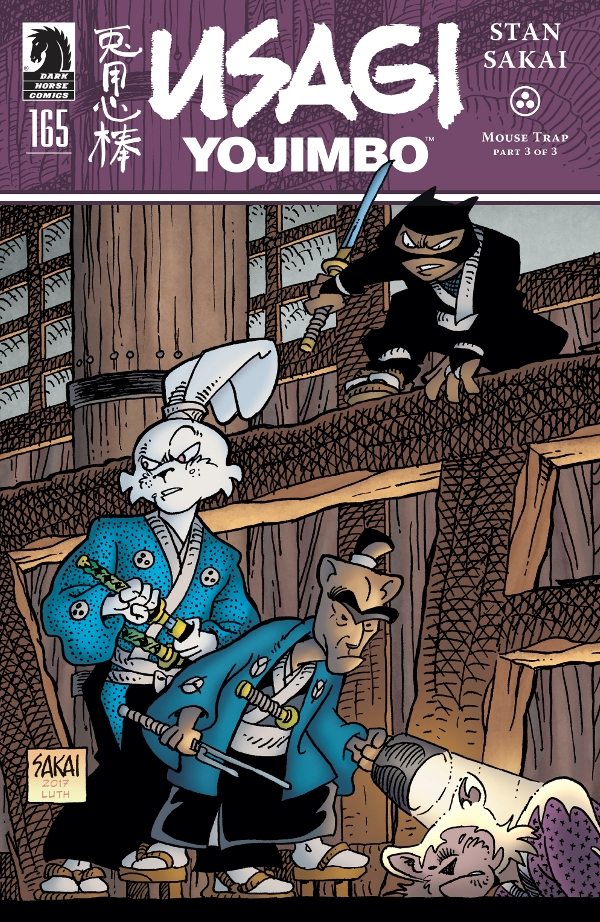 Usagi Yojimbo #165 comic review