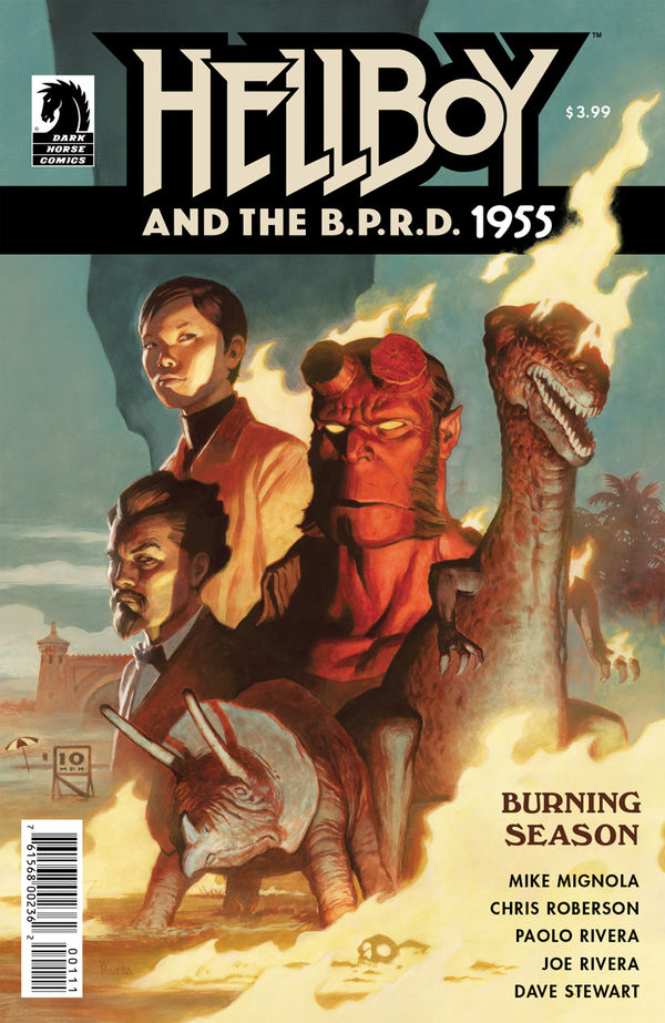 Hellboy and the B.P.R.D.: 1955 - Burning Season comic review