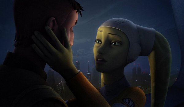 Star Wars Rebels - Jedi Night television review