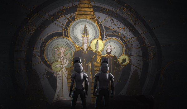 Star Wars Rebels - Wolves and a Door / A World Between Worlds TV review