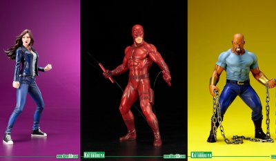The Defenders ARTFX+ Statues