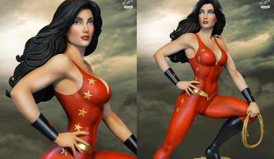 Super Powers Donna Troy Maquette
