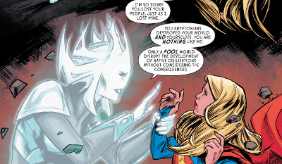 Supergirl #18 comic review