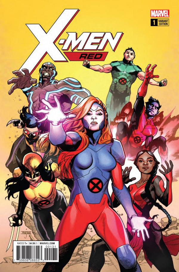 X-Men: Red #1 comic review