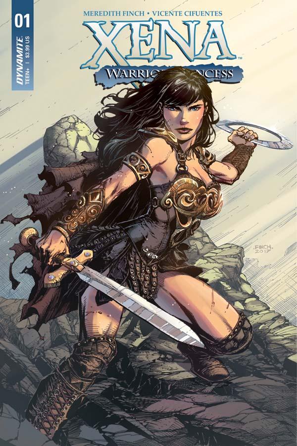 Xena: Warrior Princess #1 comic review