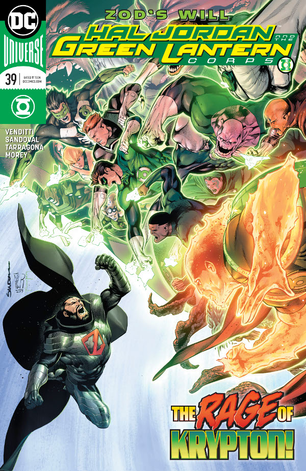 Hal Jordan and the Green Lantern Corps #39 comic review