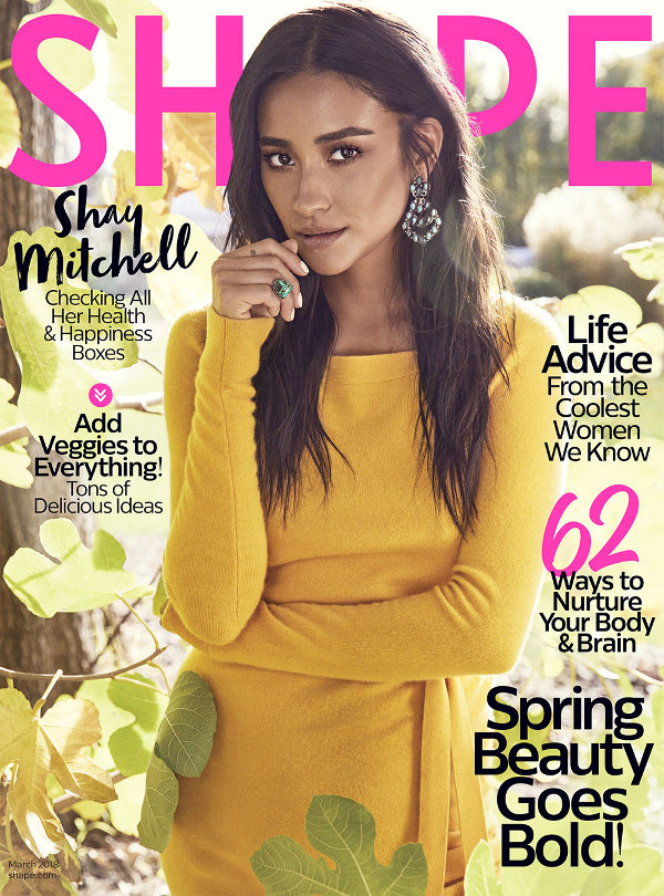 Shay Mitchell - Shape (March 2018)