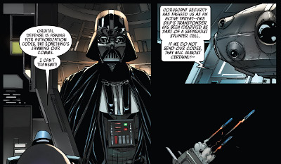 Darth Vader #12 comic review